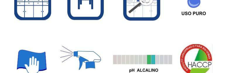 Desinfetante alcalino