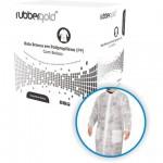 Descartaveis - Bata em TNT com Velcro Descartável Branca Rubbergold - Caixas com 10 Unidades Ref.1022