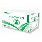 Bata Visitante em TNT Descartável Branca ou Verde Rubbergold - Caixas com 10 Unidades Ref.1024/5