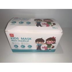 Mascara de Criança 50 Unidades