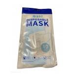 Descartaveis - Pack 10 Mascaras Descartáveis Azuis