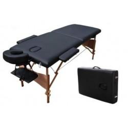Marquesa portátil de madeira, 182x60cm (sem encosto)