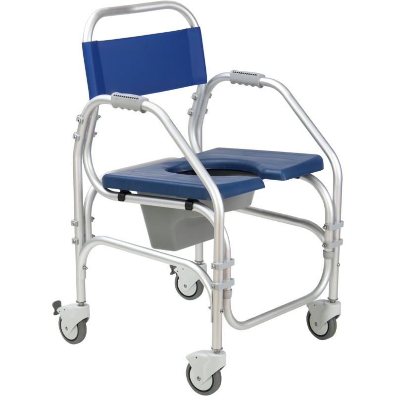 a82f3978e33c Cadeiras de Banho - Cadeira Sanitária e de Banho com Rodas Pacific
