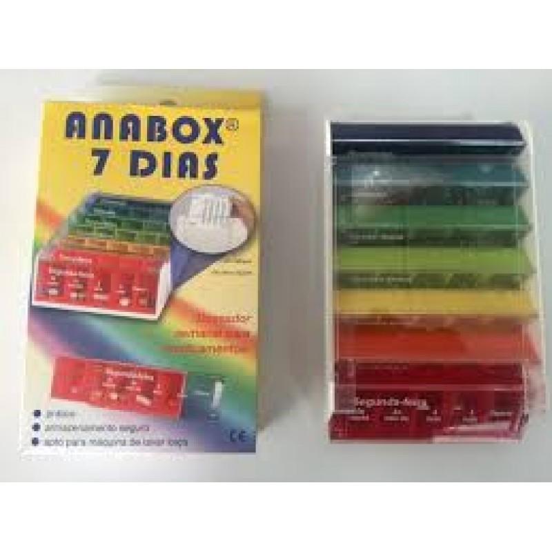 0fc18ba1f Caixa de Medicamentos Anabox - na categoria Acessórios de Medicação ...