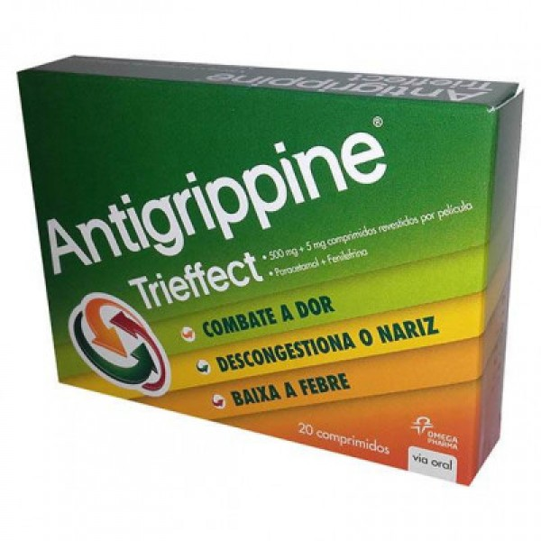Antigrippine trieffect 500mg