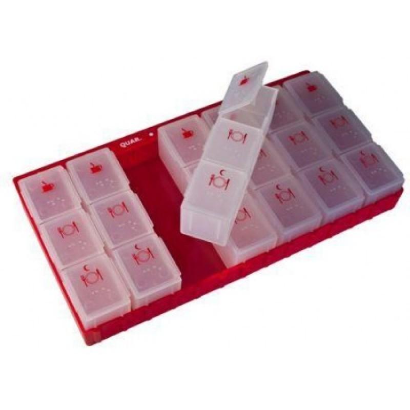 d8de2e9a8 Caixa de Medicamentos Semanal 3 Tomas Diárias - na categoria ...